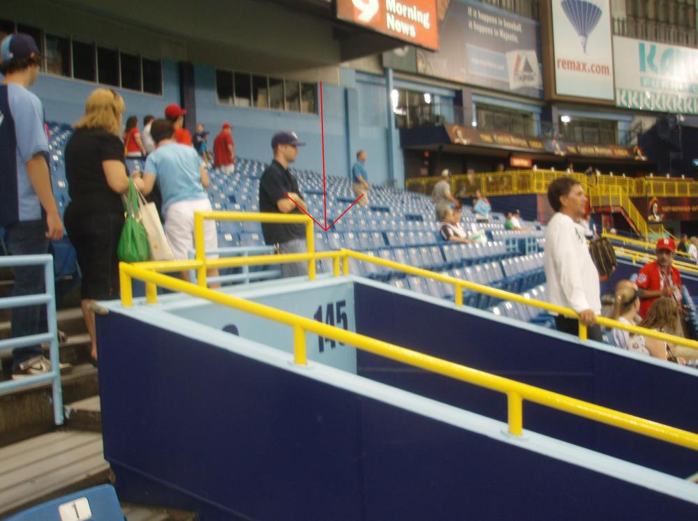 7/2/11 Cardinals at Rays: Tropicana Field (5/6)