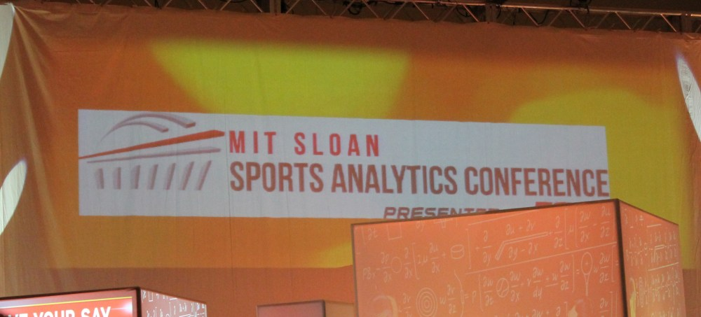 MIT Sloan Sports Analytics Conference 2012- Day 1 (1/6)