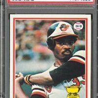An American Hobby:  Baseball Memorabilia - 1978 Topps Eddie Murray Card