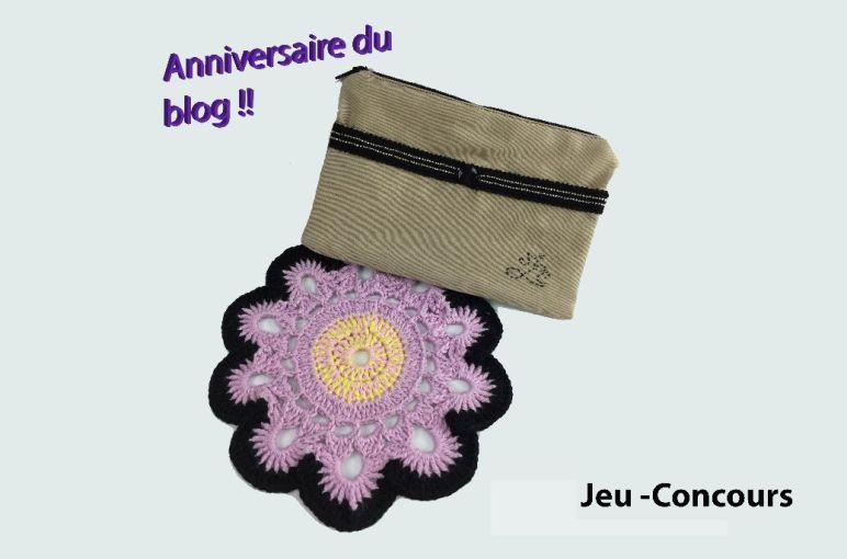 Un jeu-concours pour l'anniversaire du blog !!