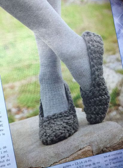 Chaussons-crochet_modele
