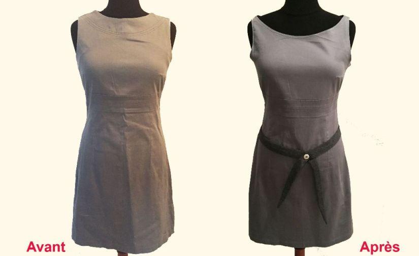 Une robe modifiée