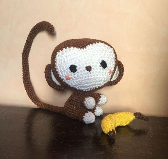 Amigurimi-singe_banane-tombee