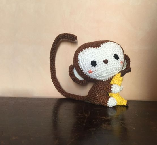 Little Monkey: mon premier amigurumi