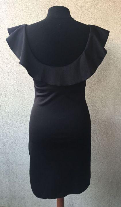 Robe-noire-custom_mannequin-dos
