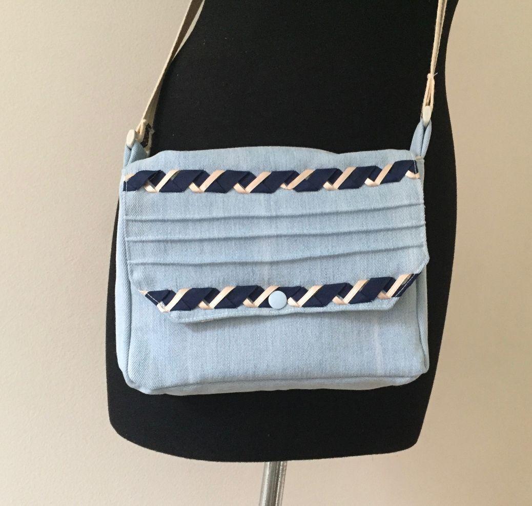 Un petit sac en jean