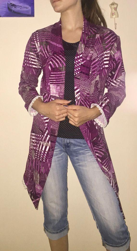 Une nouvelle veste Longue... plus longue!