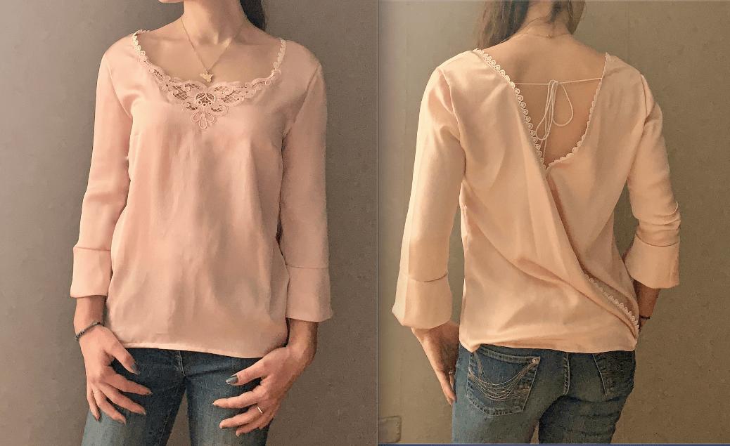 La blouse Esquisse de Ma Petite Garde Robe