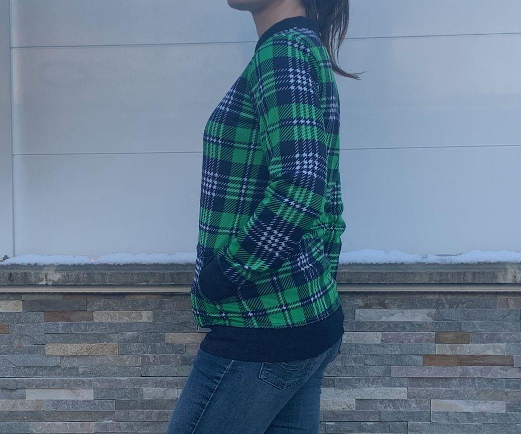 Ma petite veste à carreaux