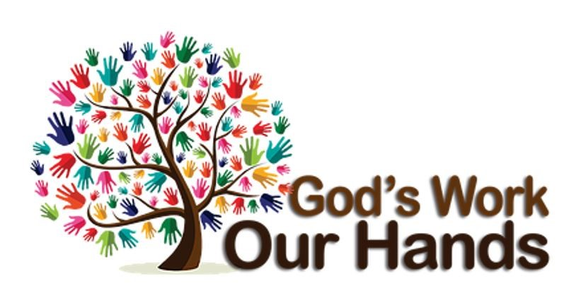 God's work our hands tree