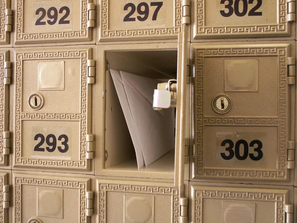 Business Mailbox Rental.