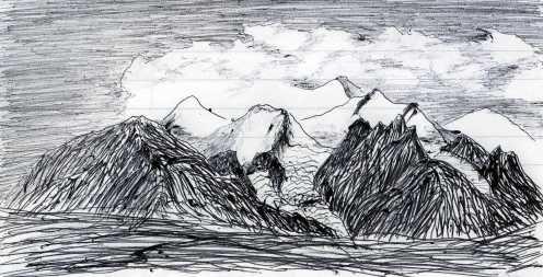 昆仑山玉珠峰