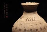 变形鸟纹彩陶壶