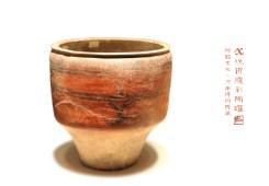 X纹折腹彩陶罐
