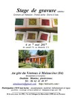 Miniature stage gravure M Les Arts