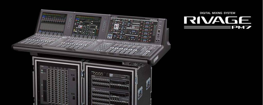 Yamaha RIVAGE PM7 Overview
