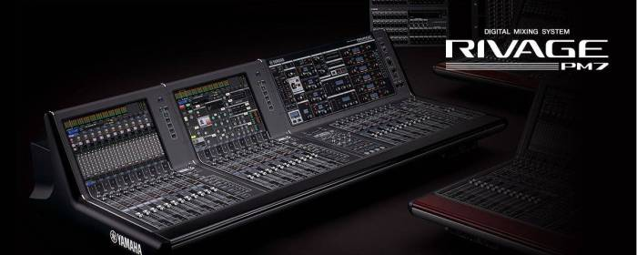 Yamaha RIVAGE PM7 Surface