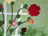 Rose Trellis Detail