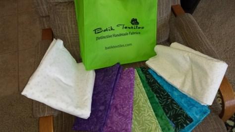 New Fabric from Batik Textiles