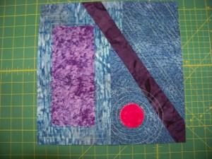 Serendipity Stitchers Block 1