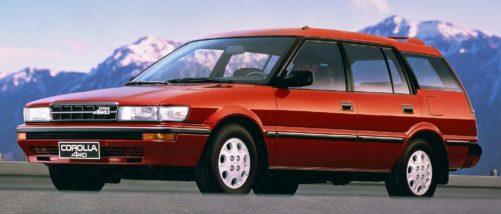 1989 Toyota Corolla, 4WD