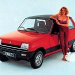 Renault 5 – Istorija modela