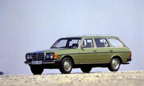 Prvi serijski turbo-dizel automobil bio je mercedes W123 300 TD turbodizel