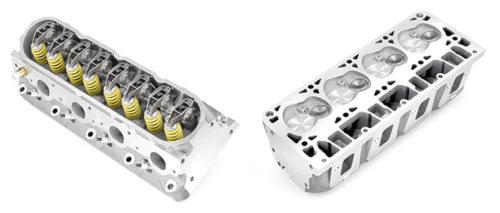 Gornja i donja strana jedne od glava 16-ventilskog V8 motora (General Motors)