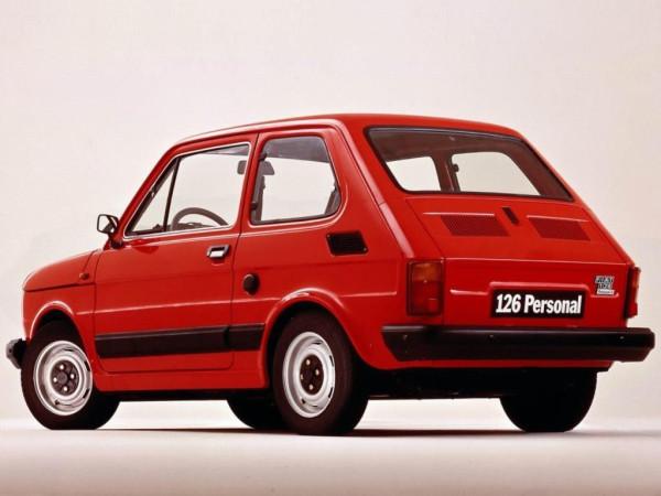 Fiat 126 - Peglica