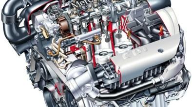 Mercedes 2.1 CDI motor