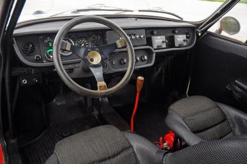 Škoda 130 RS - unutrašnjost reli verzije
