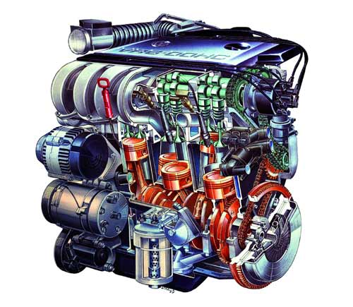 VR6 motor