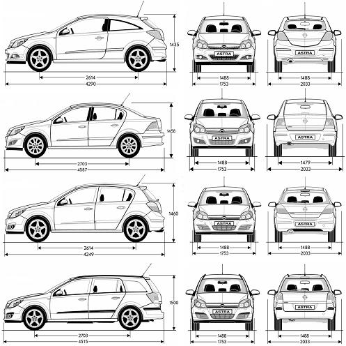 Opel Astra H 2004.
