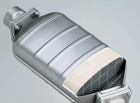 DPF 6-cilindričnog 3-litrenog dizel motora (BMW AG)