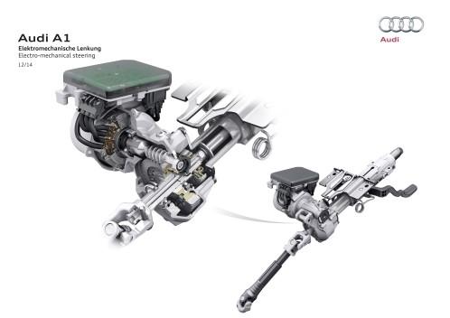 Electro-mechanical steering