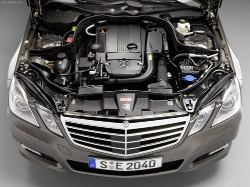 Mercedes E klase W212 - motor