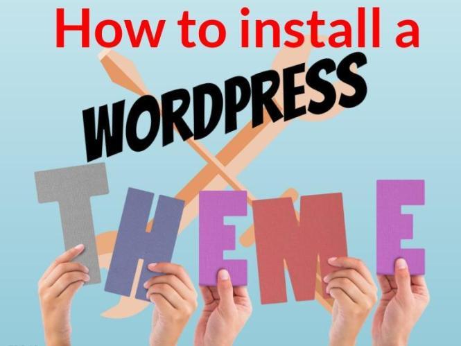 Comment installer un thème WordPress