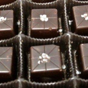 Top seller caramel filled with fleur de sel