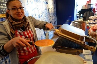 Hot Stroopwafel