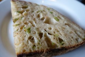 House made bread with special olives
