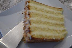 12 layers of coconut bliss Peninsula Grill