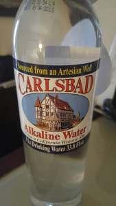 Carlsbad water