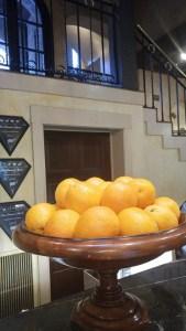 Calif naval oranges