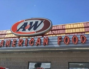 A & W Root Beer Floats on Rt. 66