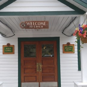 Chico Hot Springs, a needed watering hole