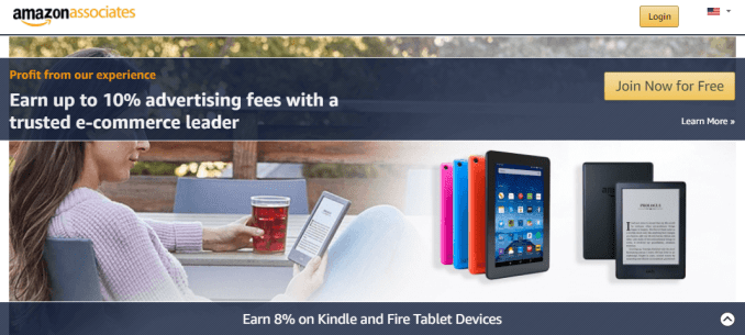 The Amazon Associates affiliate program is an easy way to get started with affiliate marketing using WordPress