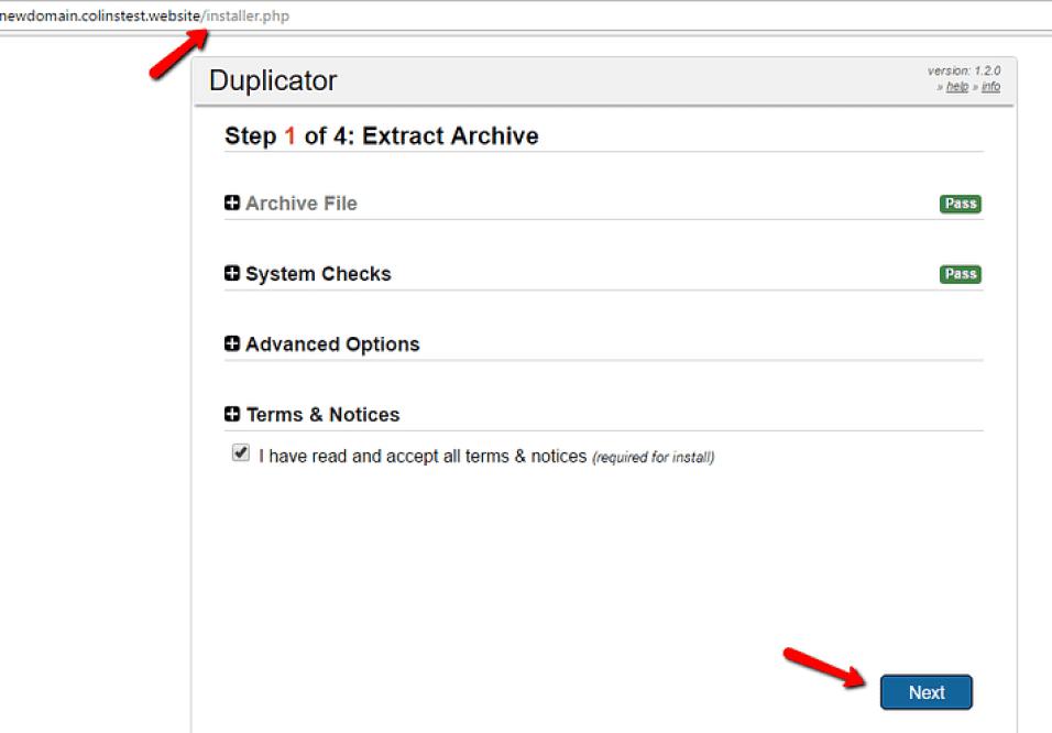 execute o instalador da duplicadora