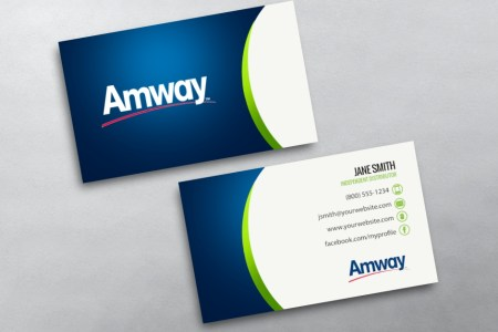 Amway Business Cards   Free Shipping Amway Business Card 11