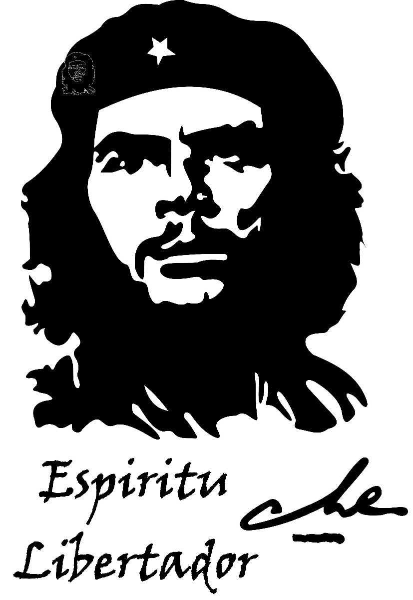 che guevara colouring pages page 2