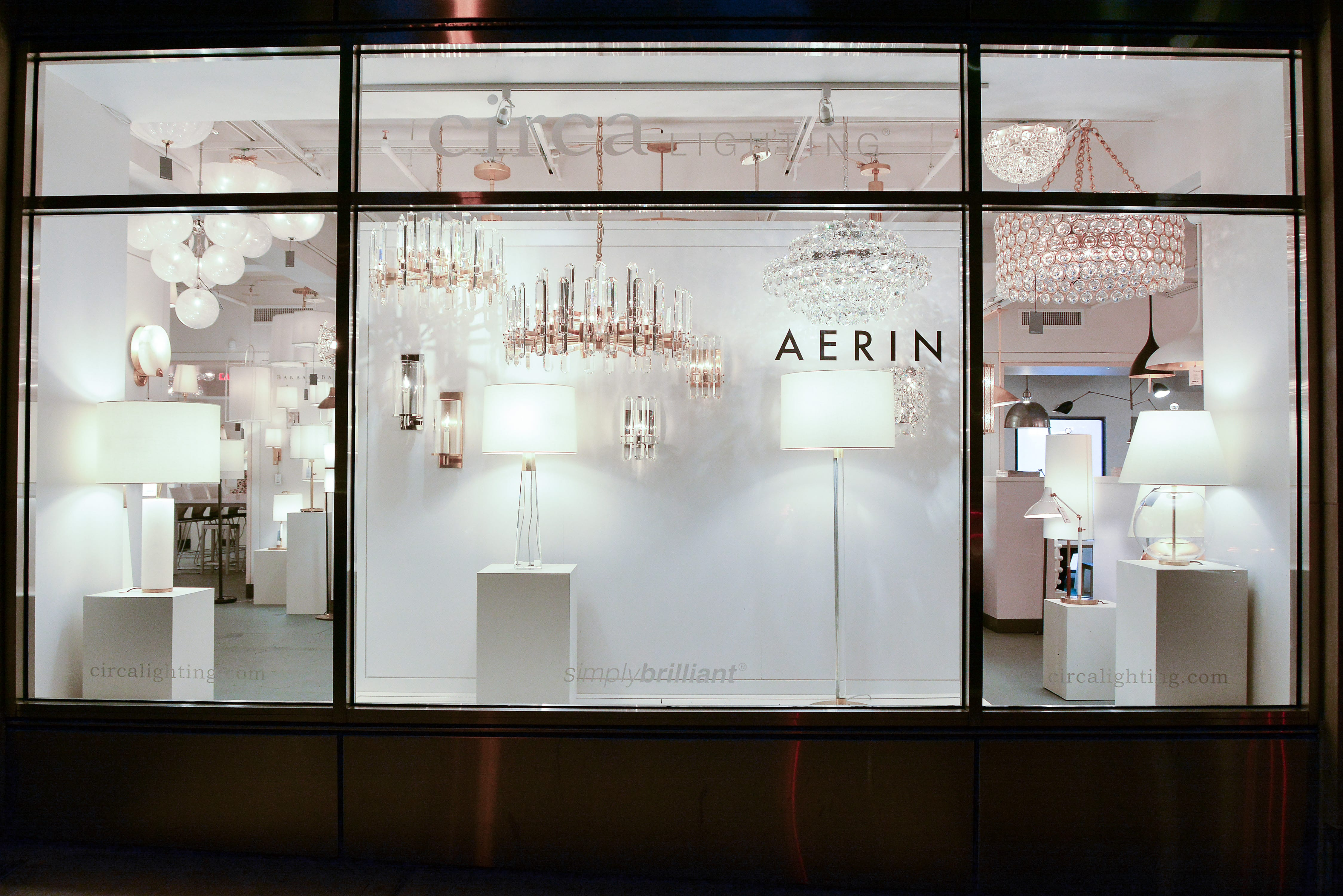 aerin home lighting celebration at circa